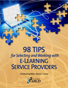 98 Tips for Selecting and Working with eLearning Service Providers