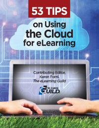 """53 Tips on Using the Cloud for eLearning"" icon"