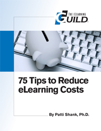 75 Tips to Reduce eLearning Costs icon