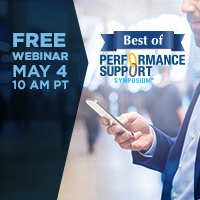 Webinar Next Week: Getting the Most Out of Mobile in Performance Support