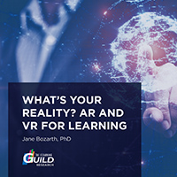 What's Your Reality? AR and VR for Learning