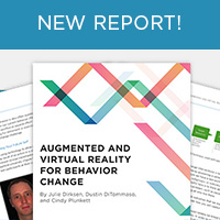 Augmented and Virtual Reality for Behavior Change