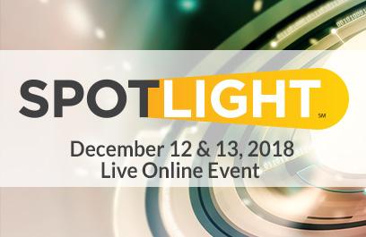 Spotlight - December 12 & 13, 2018