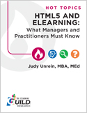 HTML5 and eLearning: What Managers and Practitioners Must Know