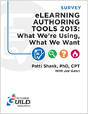 eLearning Authoring Tools 2013