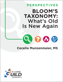 Bloom's Taxonomy: What's Old Is New Again