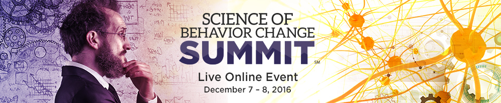 Science of Behavior Change Summit