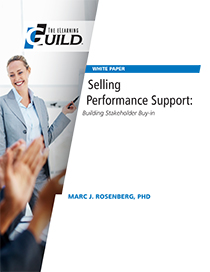 Selling Performance Support: Building Stakeholder Buy-in