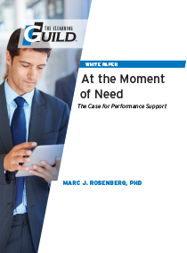 At the Moment of Need: The Case for Performance Support