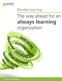 Blended Learning: The way ahead for an 'always learning' organization
