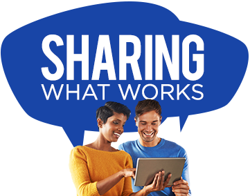 Sharing What Works